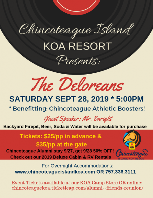 Chincoteague Island Upcoming Events