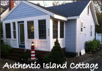 chincoteague island cottage banner