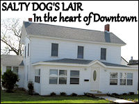 salty dog's lair banner